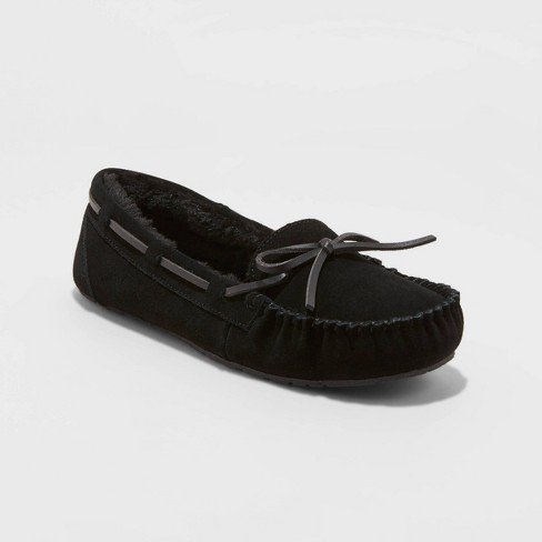 Women's Chaia Genuine Suede Moccasin Slippers - Stars Above™ - image 1 of 4
