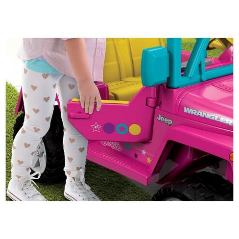 Fisher Price Power Wheels Barbie Jeep Wrangler Target
