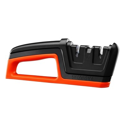 SHARPAL Knife & Scissors Sharpener Black and Orange