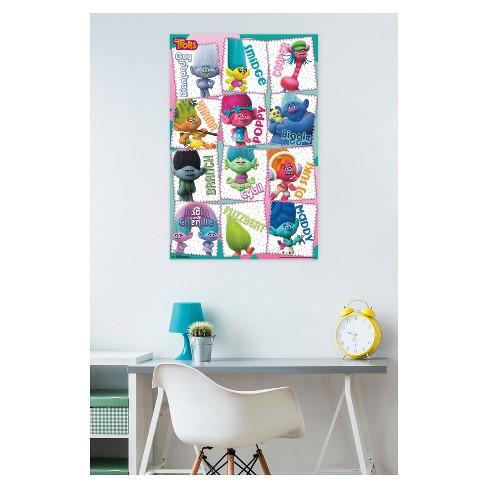 Trolls Grid Poster 34x22 - Trends International : Target