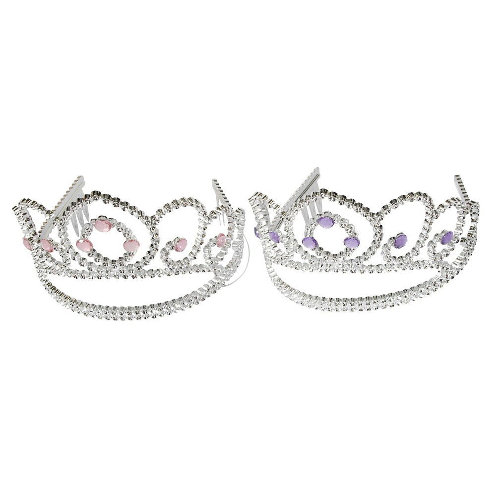 Image of 1ct Gem and Star Tiara - Spritz , Girl's, Silver