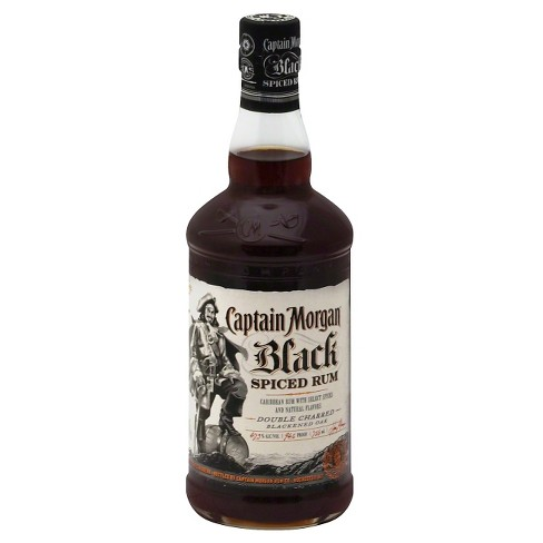 2e43986b3f7ee Captain Morgan® Black Spiced Rum - 750mL Bottle   Target