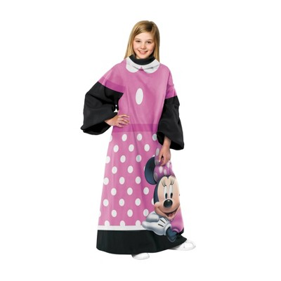 Minnie Mouse Dot Juvi Comfy Throw