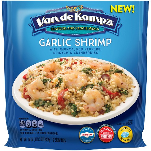 Van de Kamp's Seafood & Veggie Meals Garlic Herb Shrimp - 19oz - image 1 of 1