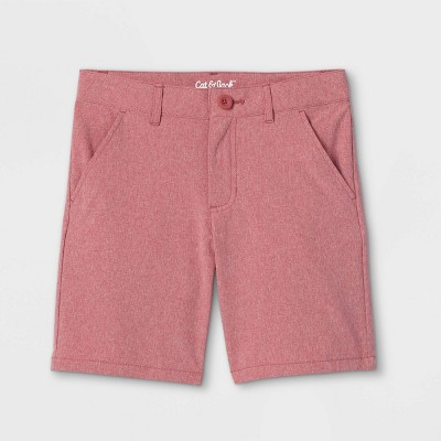 Boys' Quick Dry Chino Shorts - Cat & Jack™ Red