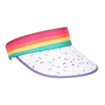 Retro Visor Rainbow Sprinkle - Sun Squad™