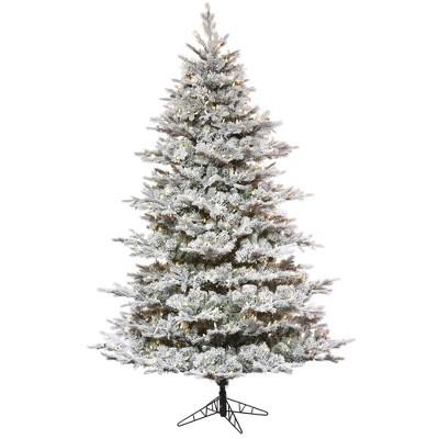 Vickerman Flocked Kiana Pine Artificial Christmas Tree
