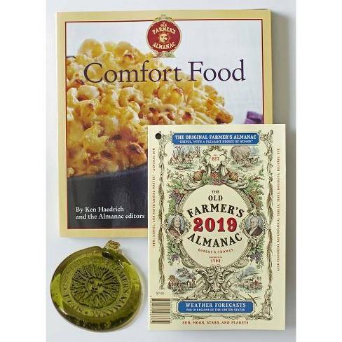The Old Farmer's Almanac 2019/Comfort Food Cookbook/Sun Catcher Bundle - (Mixed media product) - image 1 of 1