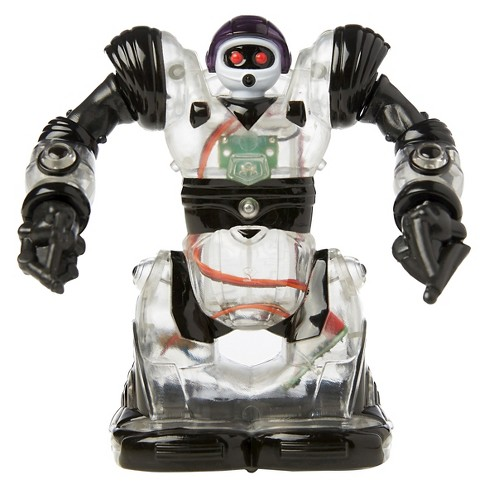 Wow Wee Mini Builder Robosapien with Remote - Clear and Black - image 1 of 5