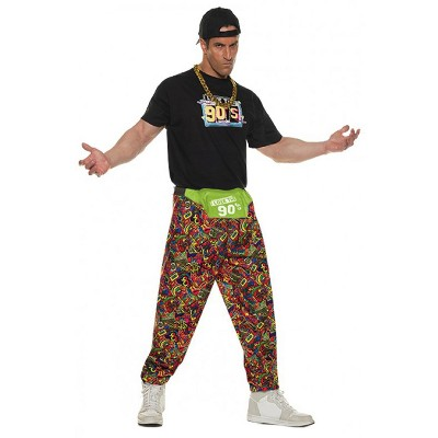 Underwraps Costumes 90s Baggy Pants Adult Costume
