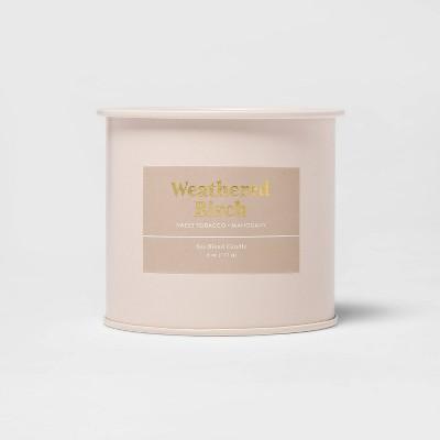 6oz Tin Jar Weathered Birch Candle - Threshold™