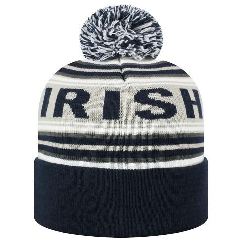 newest b99f6 5939f ... knit hat sports b0ca5 4ef92 best price beanies ncaa notre dame fighting  irish target a74cc b5baa ...