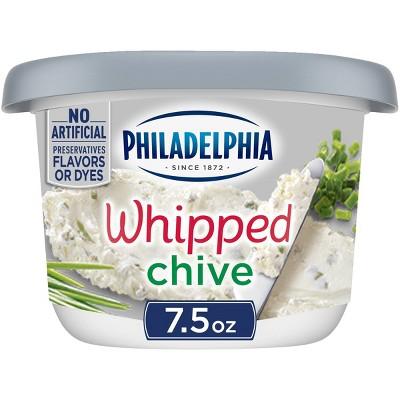 Philadelphia Whipped Chive Cream Cheese Tub - 7.5oz