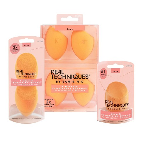 Real Techniques Miracle Complexion Sponge Orange - image 1 of 5