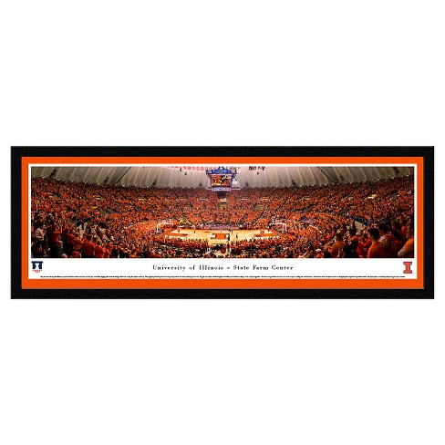 NCAA Blakeway Basketball Arena View Framed Wall Art - Select Frame - image 1 of 1