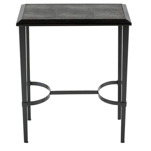 End Table Black - Safavieh - image 1 of 3
