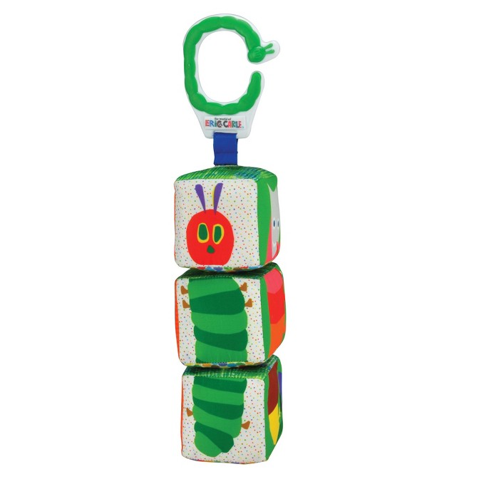 "Eric Carle Developmental ""Twist & Click"" Character Blocks - image 1 of 1"