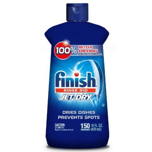 Finish Jet-Dry Rinse Aid, Dishwasher Rinse & Drying Agent - 16 fl oz - image 1 of 4