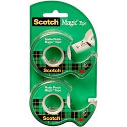 """Scotch Magic Tape, 3/4"""" x 600"""", 2PK"""