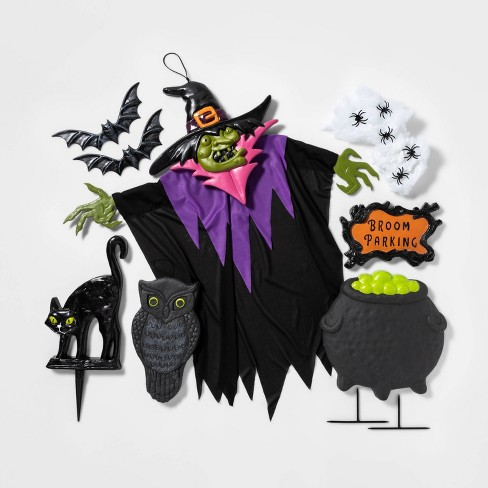 Witch Scene Setter Decorative Halloween Prop - Hyde & EEK! Boutique™ - image 1 of 1