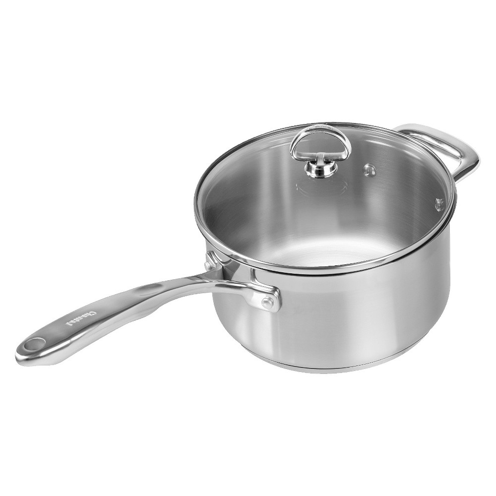 Chantal Induction 3.5 Quart 21 Steel Saucepan with Lid