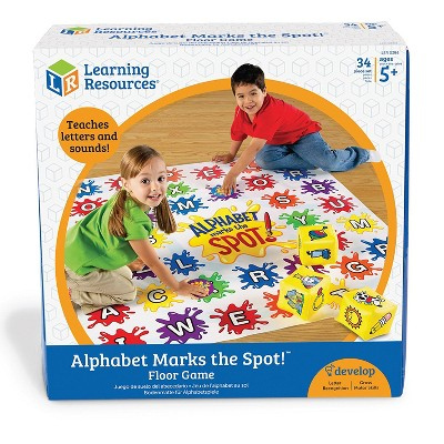 Learning Resources Alphabet Marks the Spot Floor Mat, Ages 3+