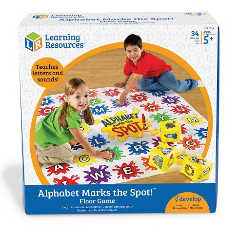 Learning Resources Alphabet Marks the Spot Floor Mat, Ages 3+ - image 1 of 4