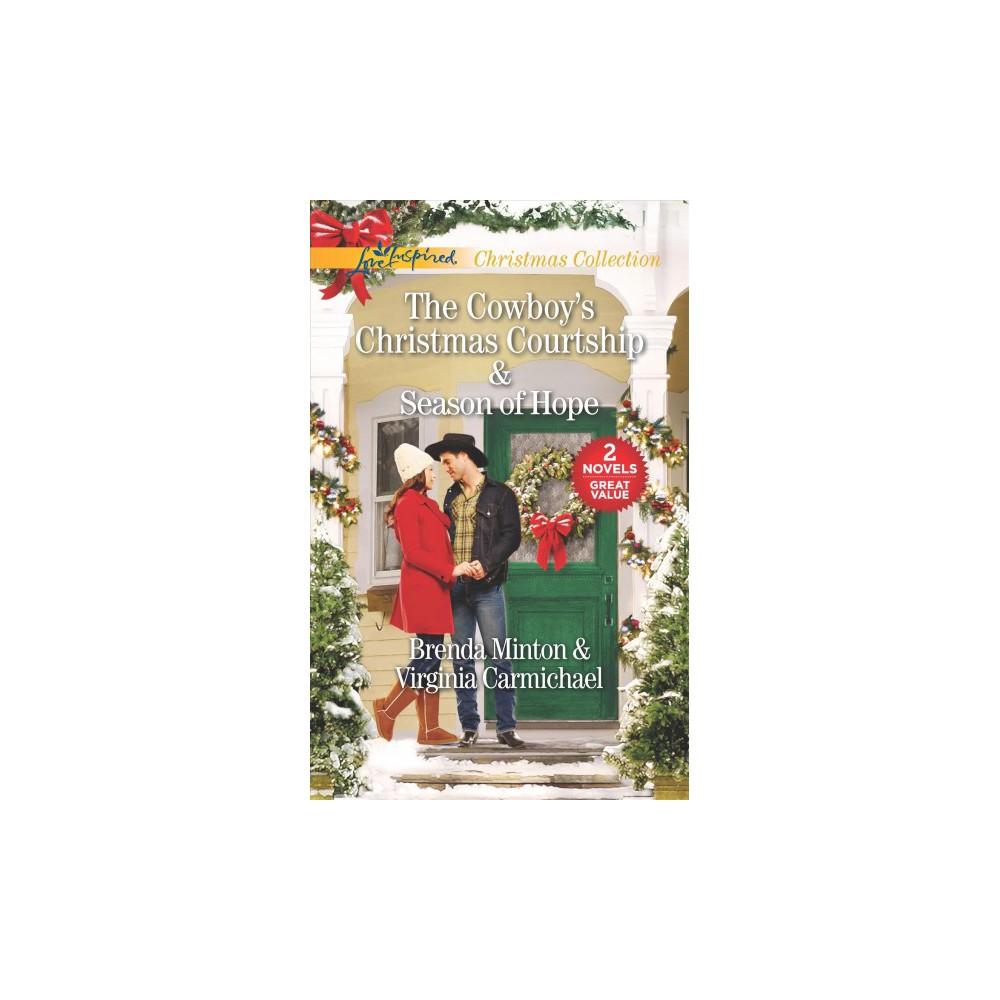Cowboy's Christmas Courtship & Season of Hope - Original by Brenda Minton & Virginia Carmichael