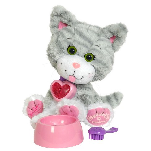 "Cabbage Patch Kids 9"" Adoptimals - Gray Striped Kitty - image 1 of 2"