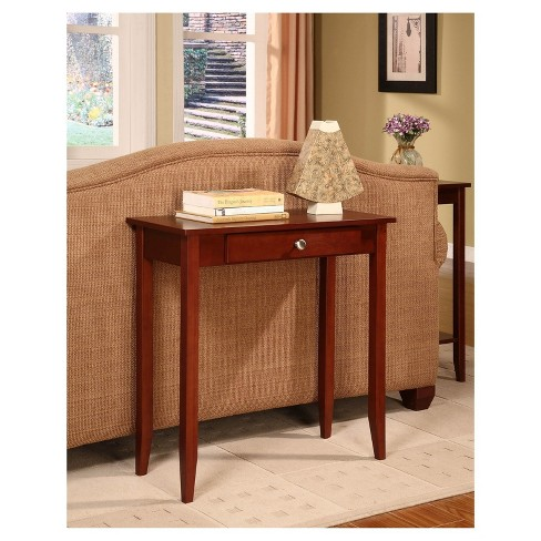 Rosewood Console Table Coffee Dorel Home Products