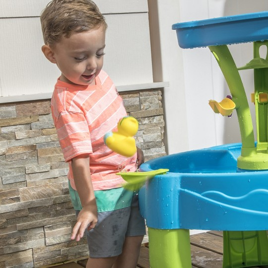 Step2 Summer Showers Splash Tower Water Table image number null