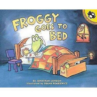 Froggy Goes to Bed (Reprint)(Paperback)(Jonathan London)