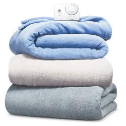 Solid Microplush Electric Blanket - Biddeford Blankets