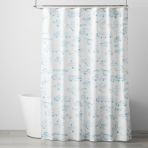 Speedy Study Shower Curtain - Pillowfort™ - image 1 of 2