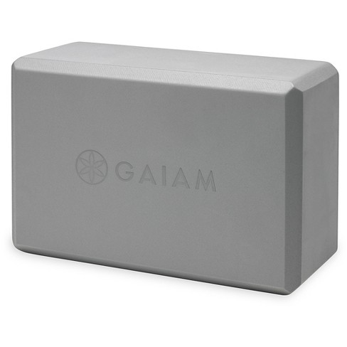 Gaiam Yoga Essentials Block Gray Target