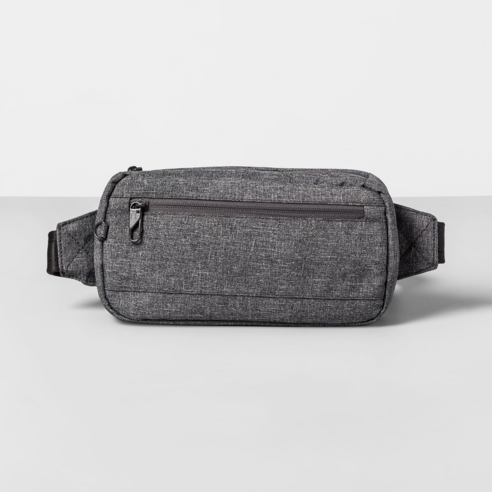 AntiTheft Rfid Hip Sling Pack - Gray - Made By Design