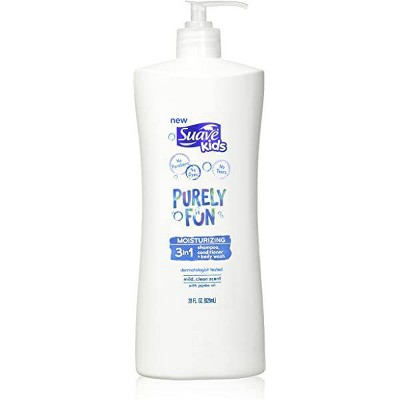 Suave Kids Purely Fun 3-in-1 Shampoo Conditioner & Body Wash - 28 fl oz