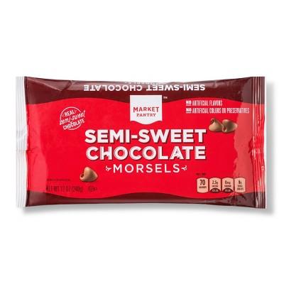 Semi-Sweet Chocolate Chips - 12oz - Market Pantry™