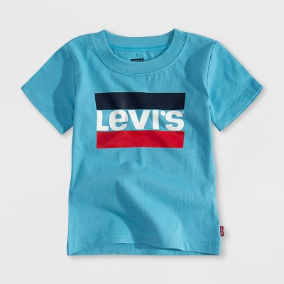 Levi's® Baby Boys' Graphic Short Sleeve T-Shirt - Norse Blue 3M