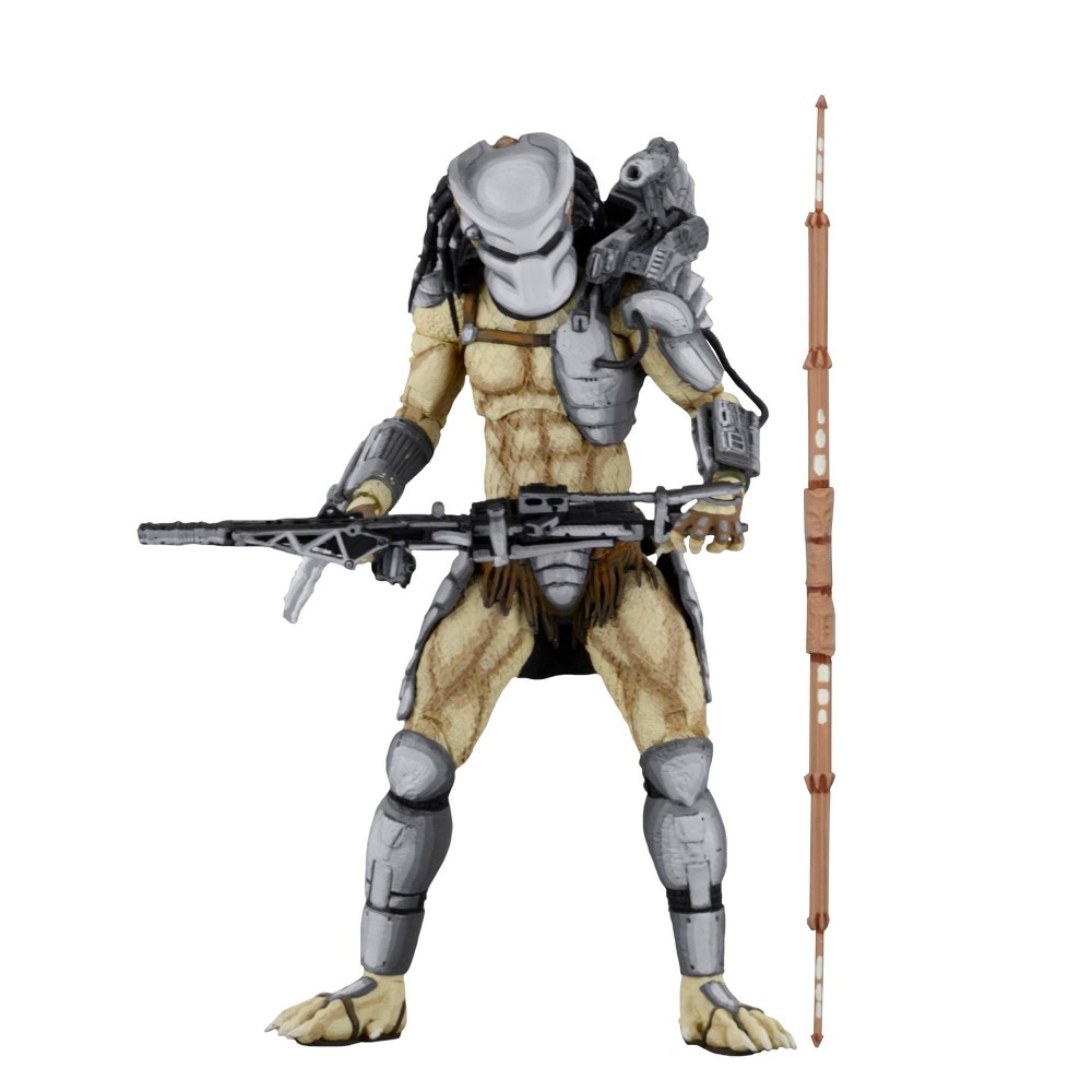 "Image of ""Alien vs. Predator Arcade Warrior Predator 7"""" Action Figure"""