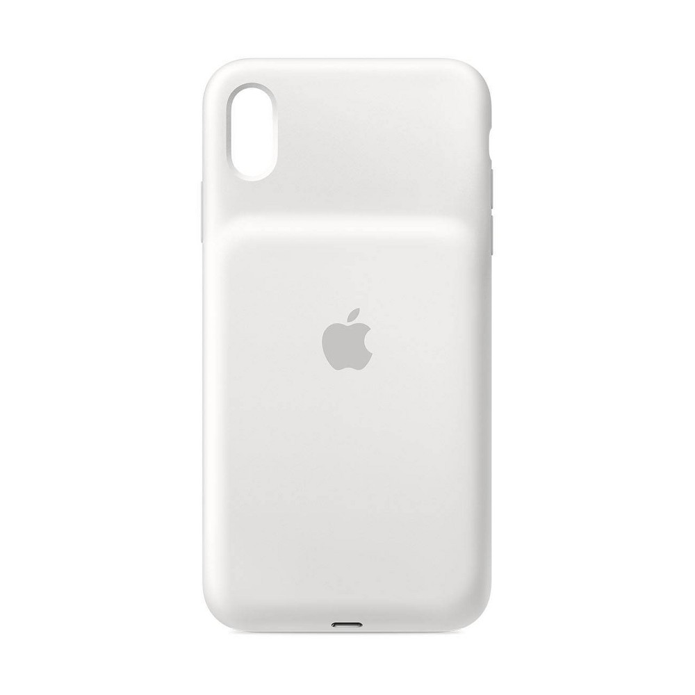 Apple iPhone XS Max Smart Battery Case - White Apple iPhone XS Max Smart Battery Case - White Pattern: Solid.