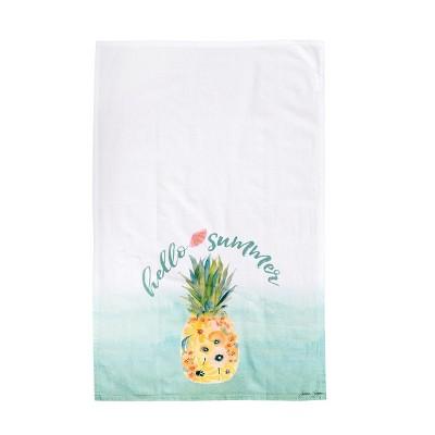 C&F Home Hello Summer Kitchen Flour Sack Dishtowel