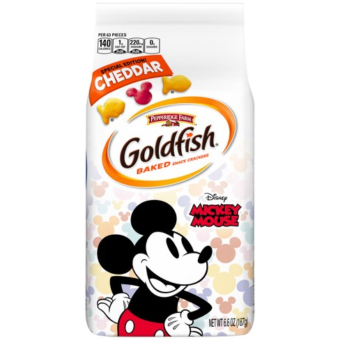 Pepperidge Farm® Goldfish® Special Edition Disney Mickey Mouse Cheddar Crackers - 6.6oz - image 1 of 10