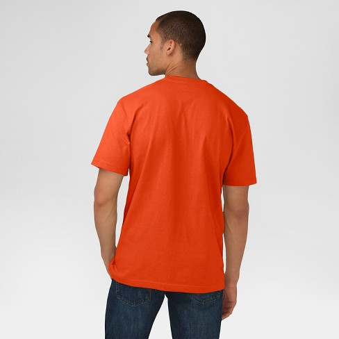 c81a4abc Dickies® Men's Cotton Heavyweight Short Sleeve Pocket T-Shirt- Orange S :  Target