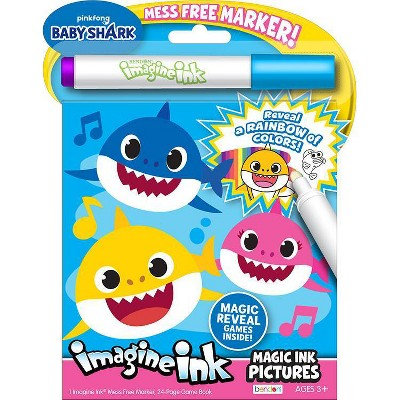 Baby Shark Imagine Ink Magic Ink Book