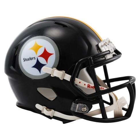 7c84e84ab Pittsburgh Steelers Riddell Speed Mini Helmet - Black   Target