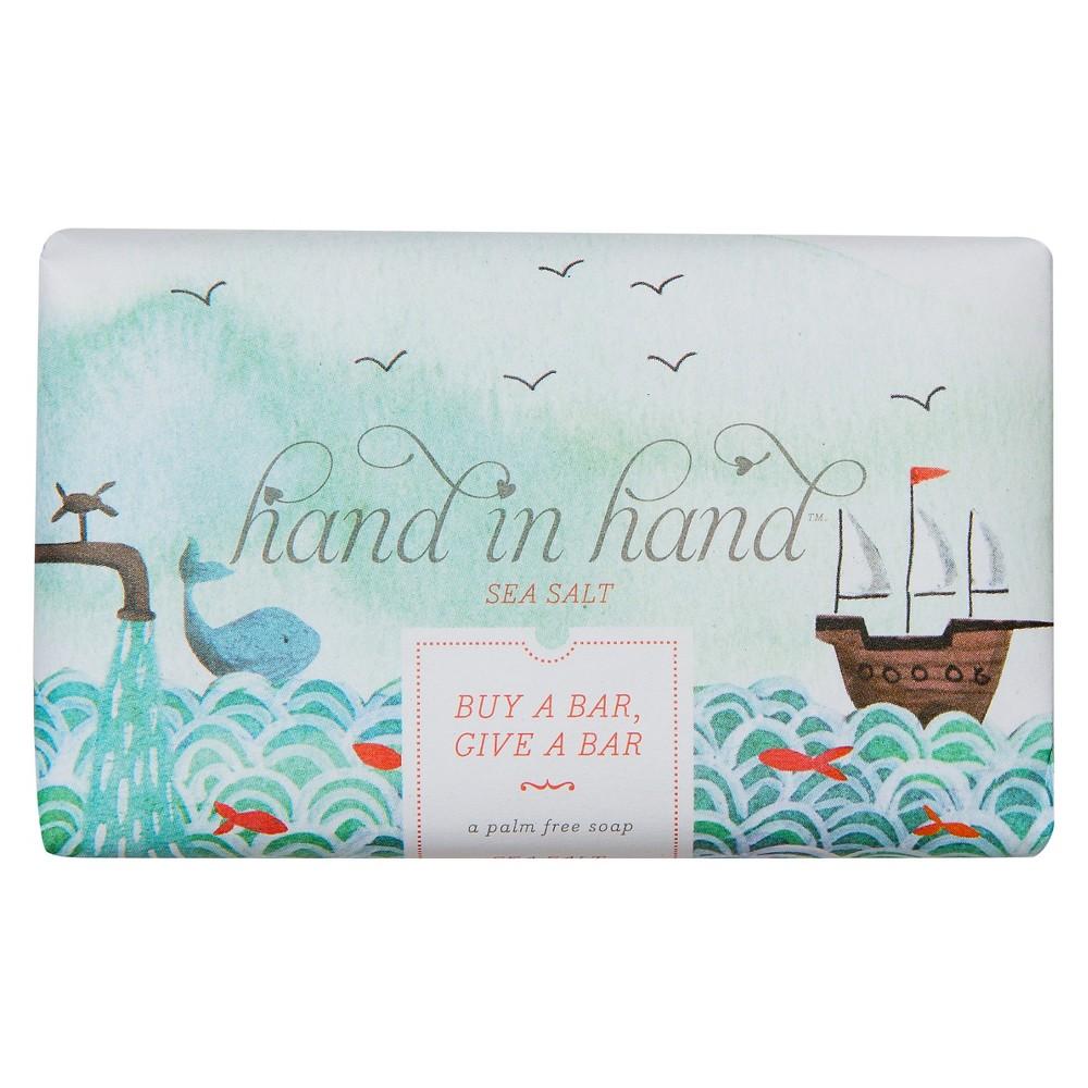 Hand in Hand Sea Salt Palm Free Bar Soap 5oz