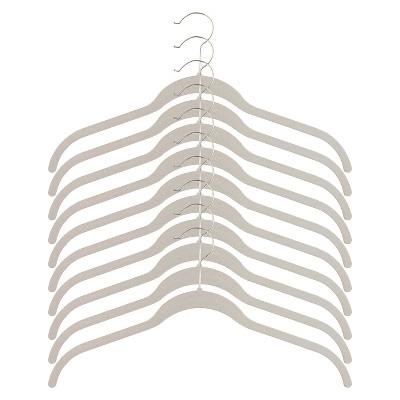 Huggable Hangers 10pk Shirt Hangers - White