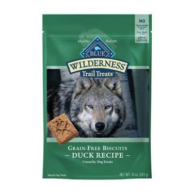 Blue Buffalo Wilderness Trail Treat Duck Recipe Grain Free Dog Treats - 10oz