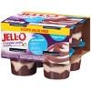 JELL-O Sugar Free Chocolate Vanilla Swirls Pudding - 29oz/4pk - image 3 of 4
